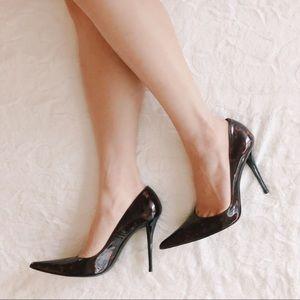 {stuart weitzman} tortoiseshell stiletto heels